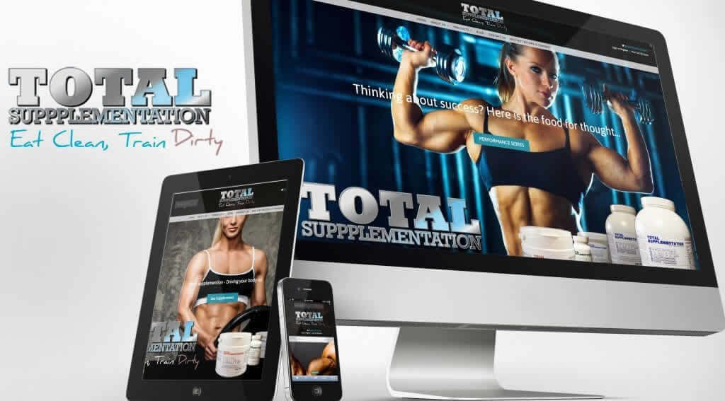 Total Supplementation Responsive Website
