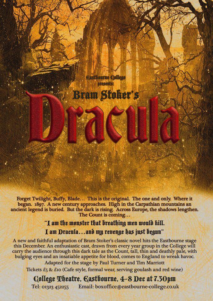 Dracula flyer