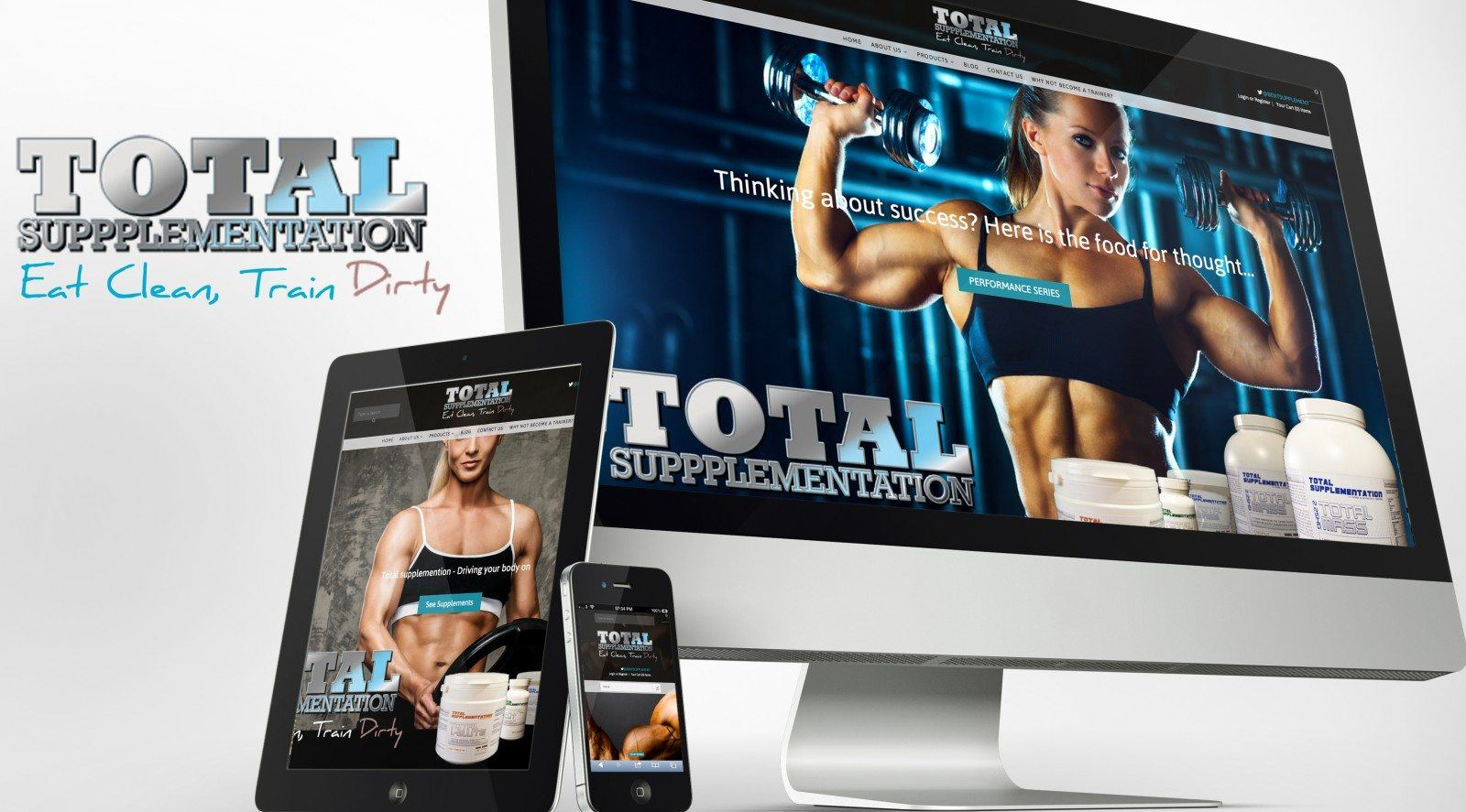 Total Supplementation Responsive Website