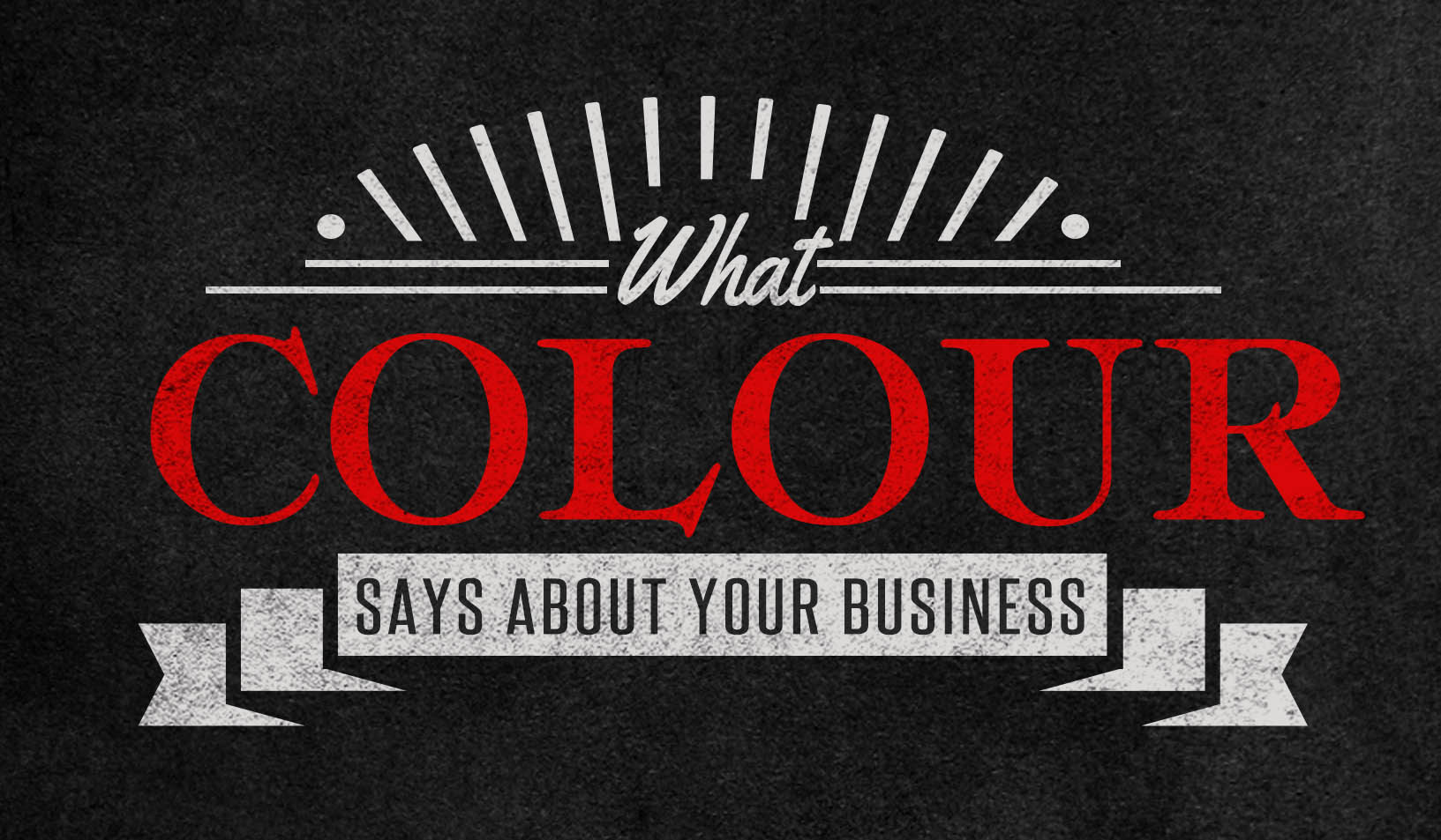 What colour says about your business.