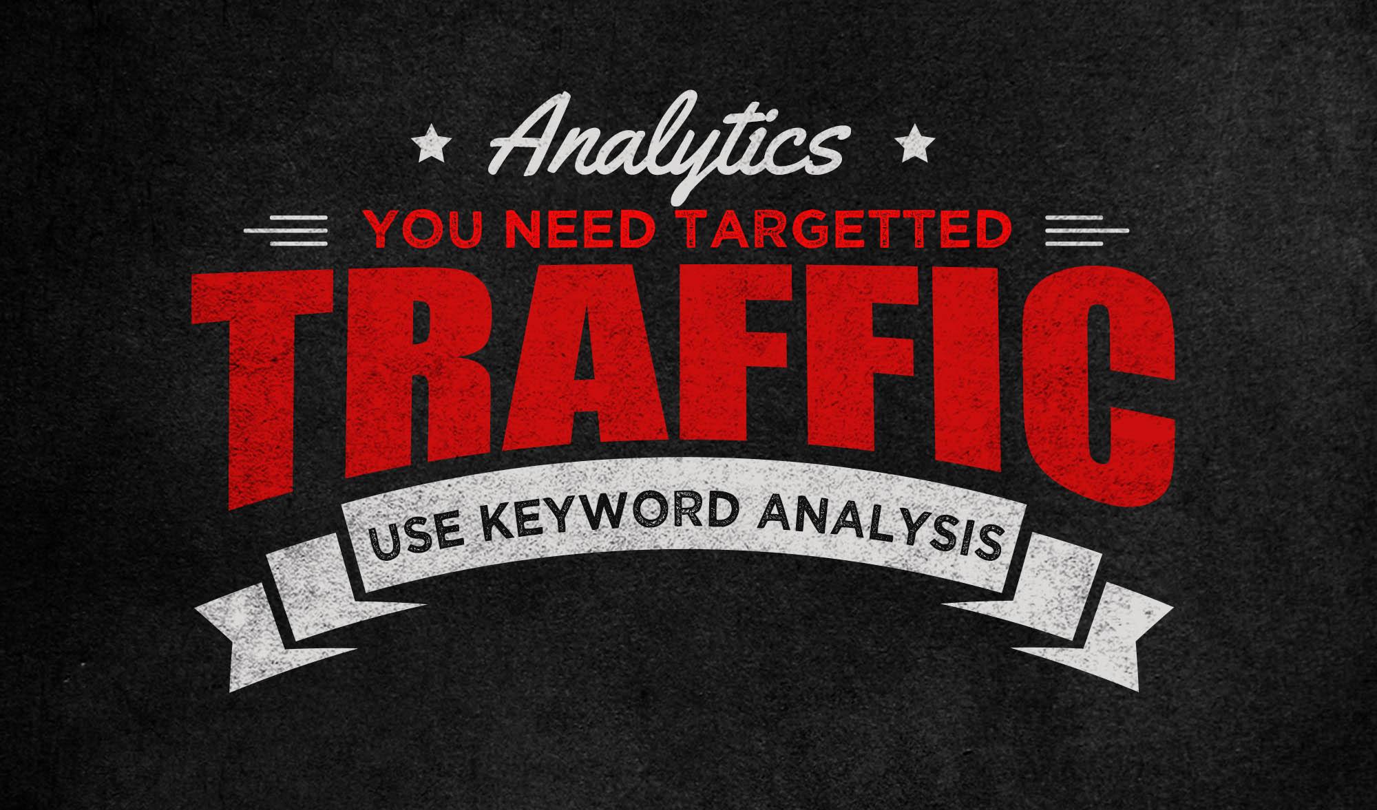 Analytics are key