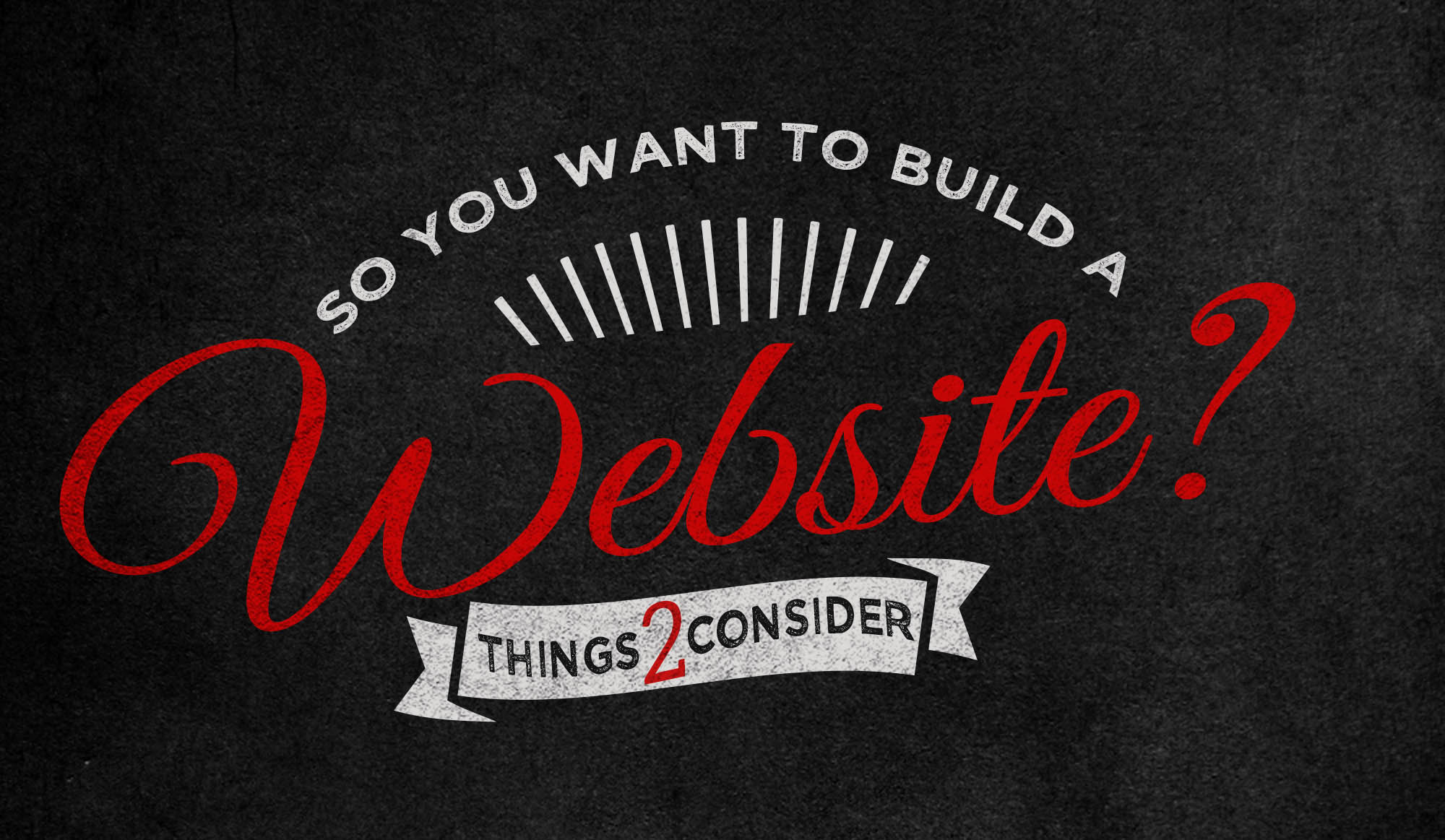 Want to build a website?